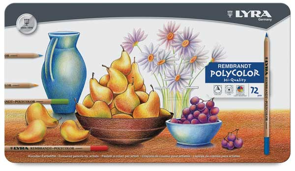 lyra rembrandt polycolor set of 75