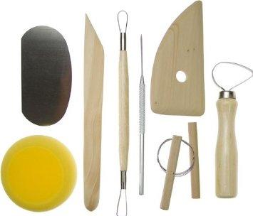 clay pottery tool kit isi 8