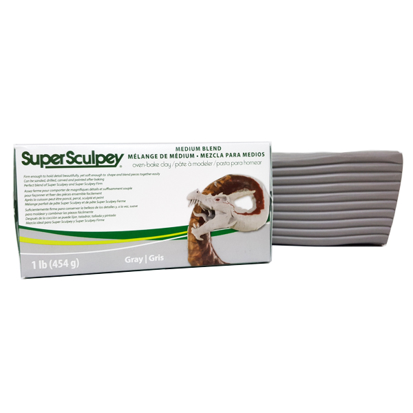 super sculpey medium blend 1lb 454gr 3