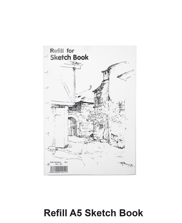 lyra sketch book refill a5 isi 30