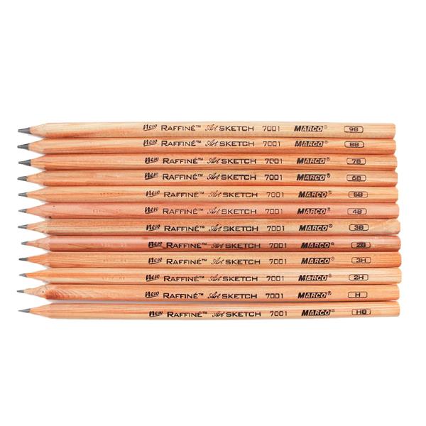 marco raffine fine art sketch pencil 7001