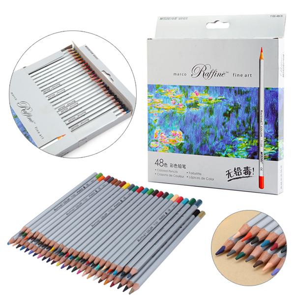 marco raffine fine art oil based coloured pencils 50