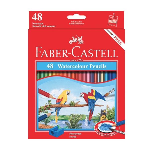 faber castell watercolour pencils 48