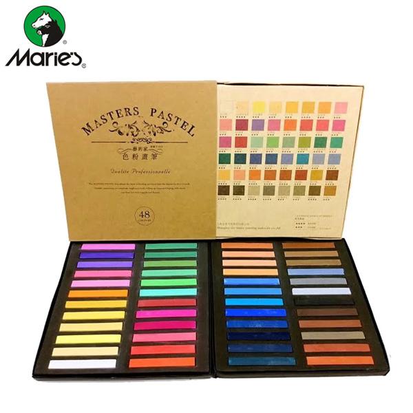 maries master soft pastel set 55