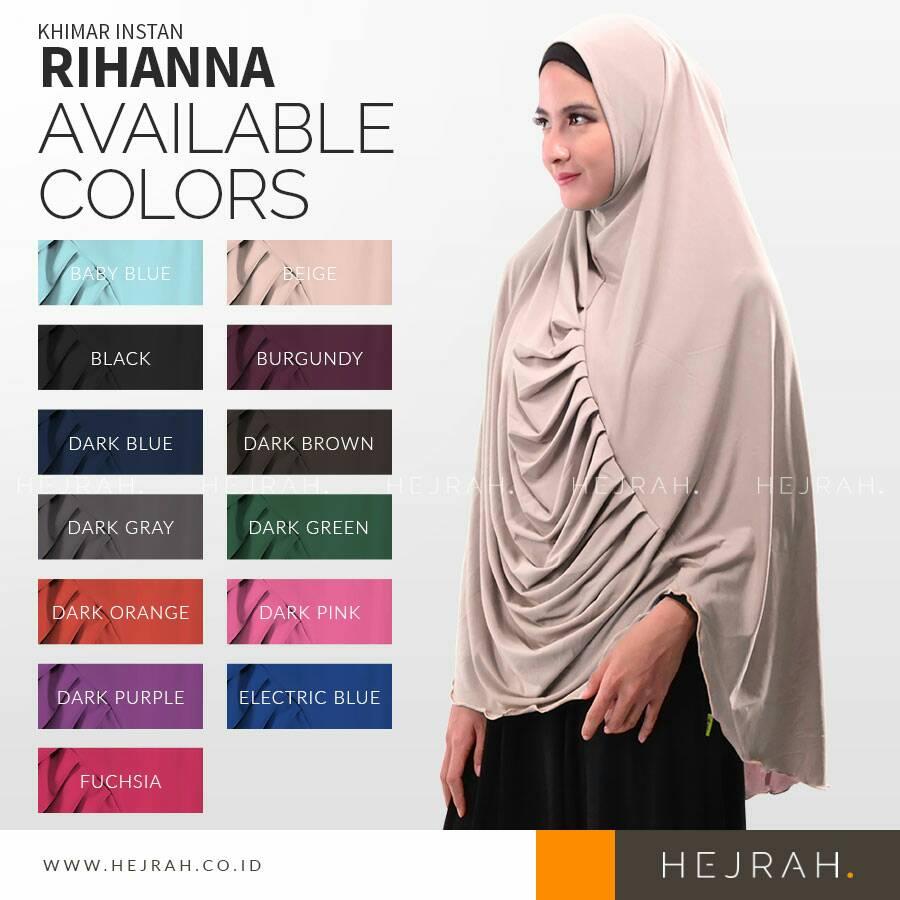 jilbab/ kerudung/hijab/bergo/ instan Rihanna