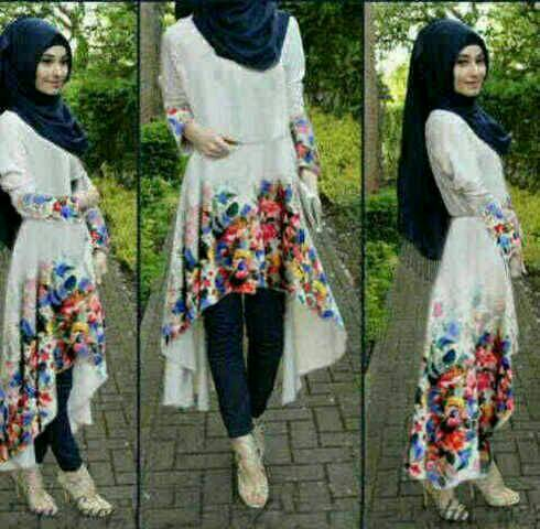 Safira Hijab Flower 3in1-By GcH