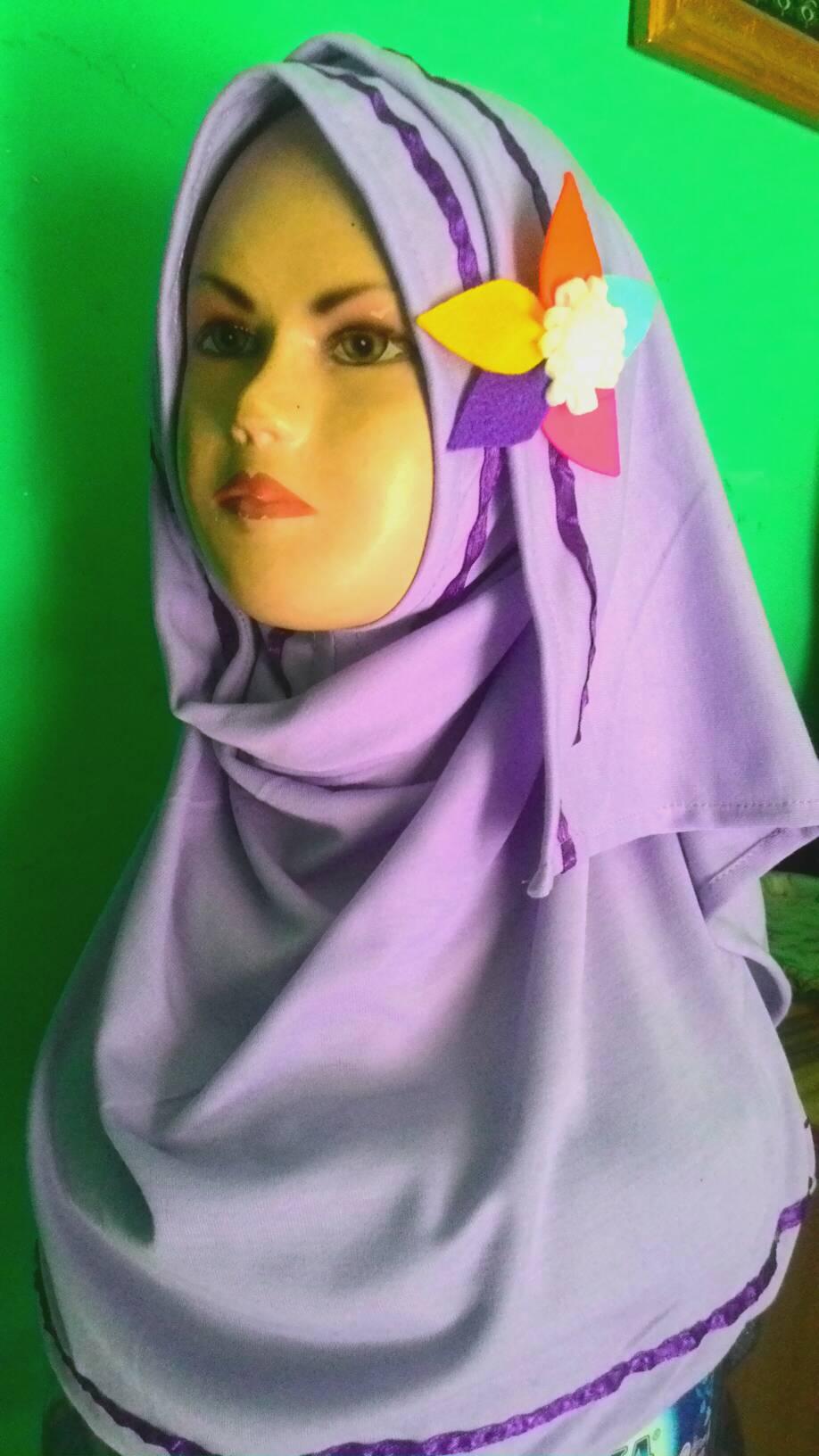 jilbab/ hijab instant anak