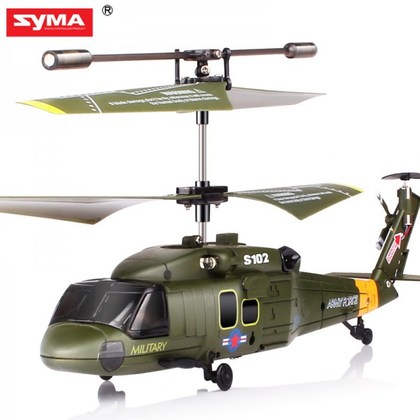 Syma S102G 3.5CH UH-60 Black Hawk RC Helicopter