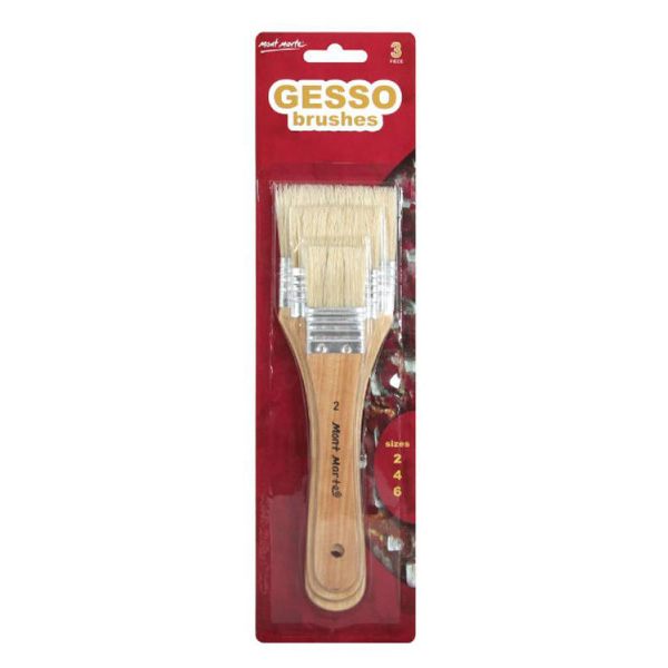 mont marte gesso brushes set 11