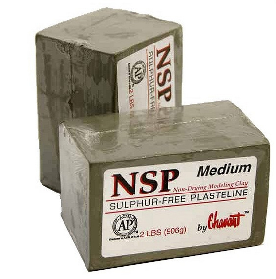 nsp chavant medium clay green 8