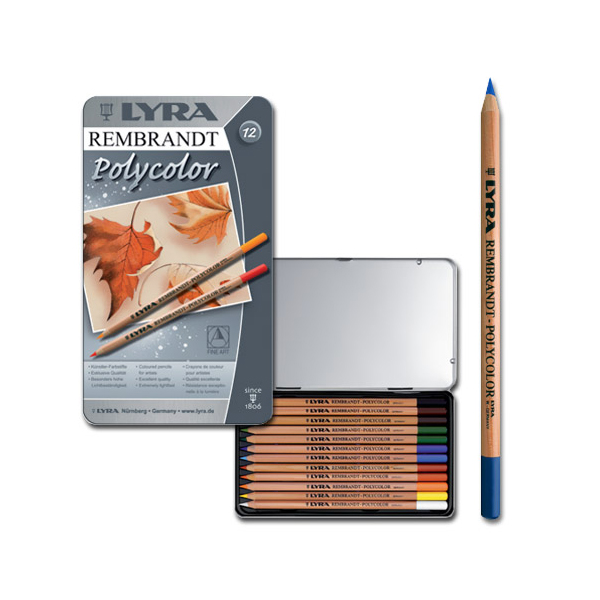 lyra rembrandt polycolor set of 21