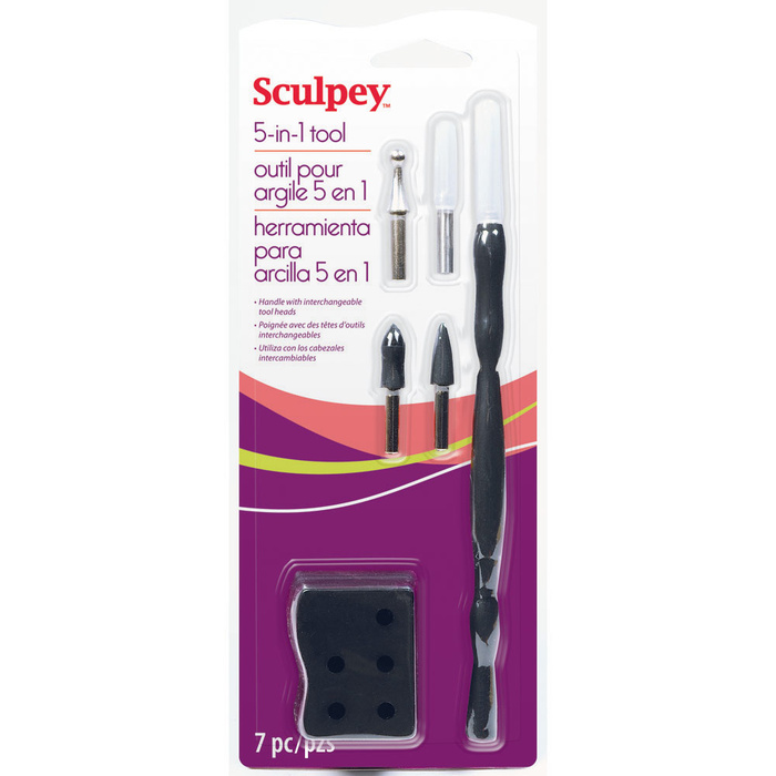 sculpey 5 in 1 tool set 8