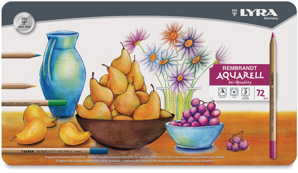lyra rembrandt aquarell set of 82