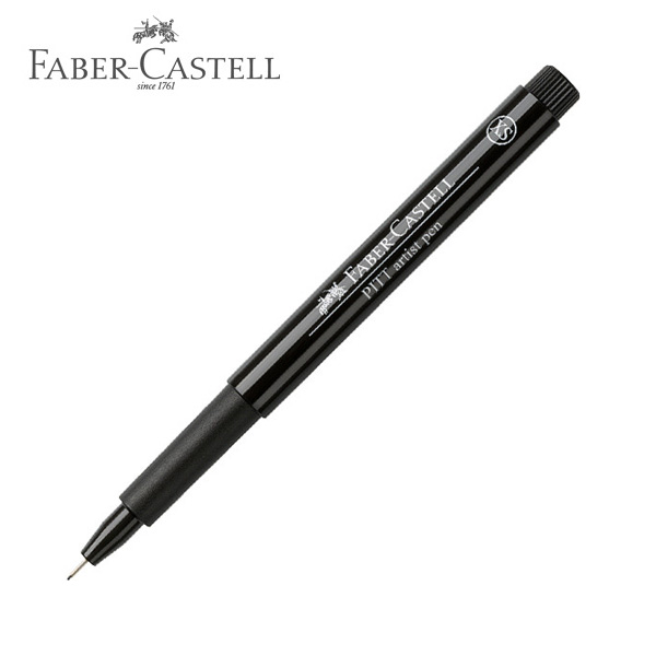 faber castell pitt artist drawing pen xs extra fine black 13