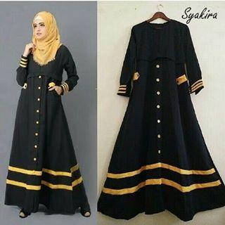 Baju Hijab Wanita - Syakira Black