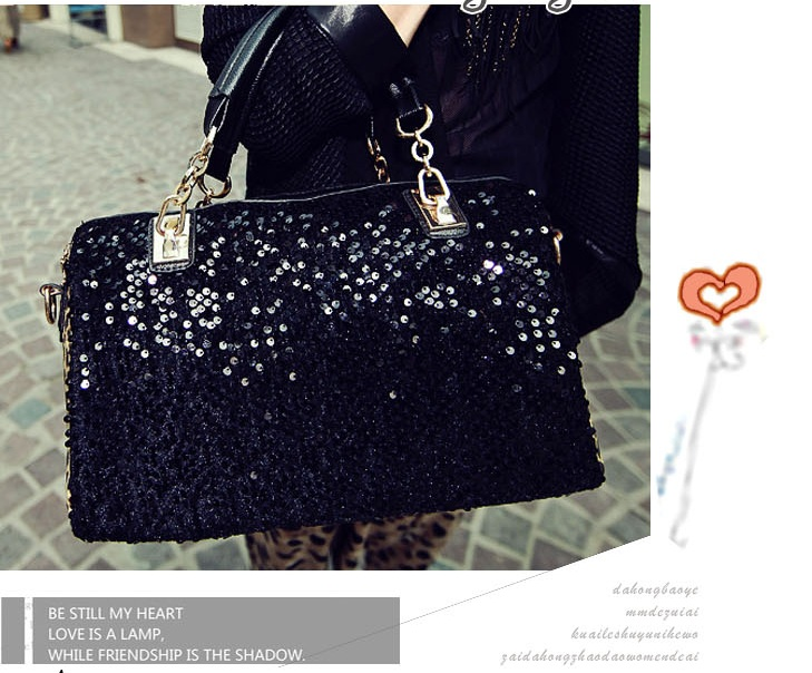 sequin leopard bag -0443