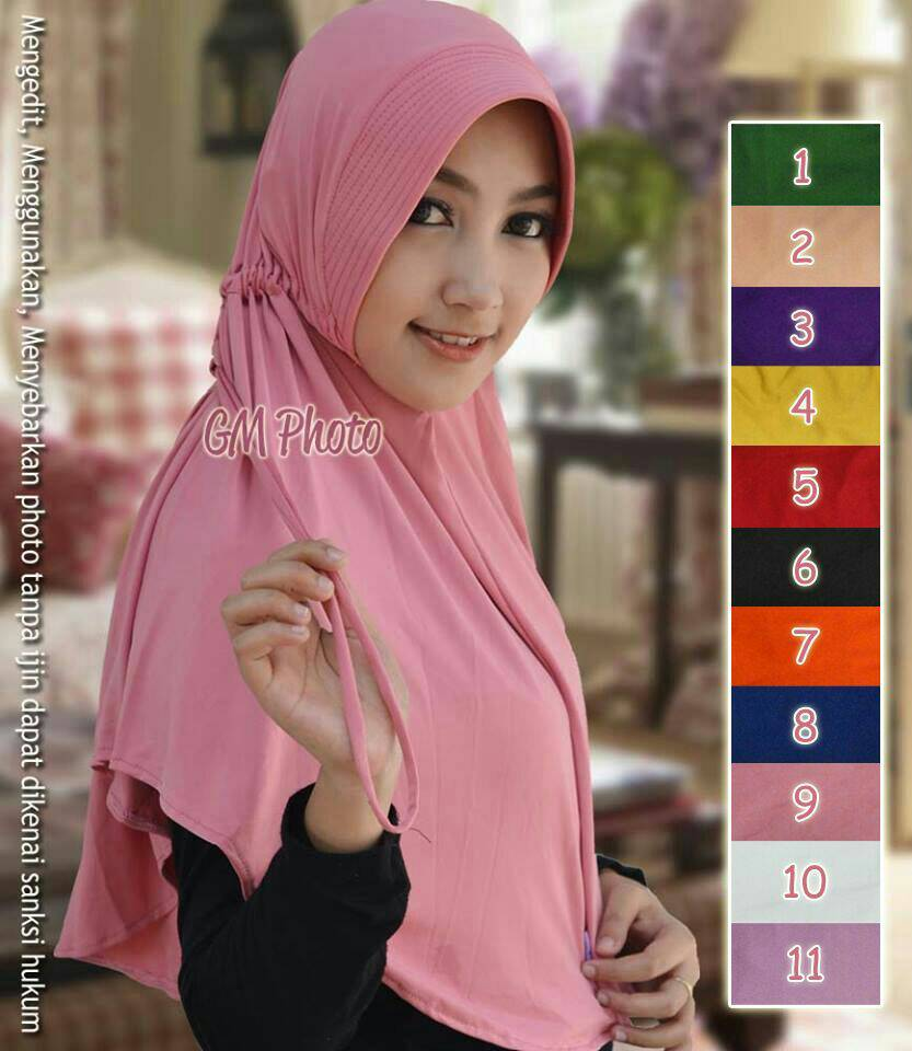 Hijab Talita Polos