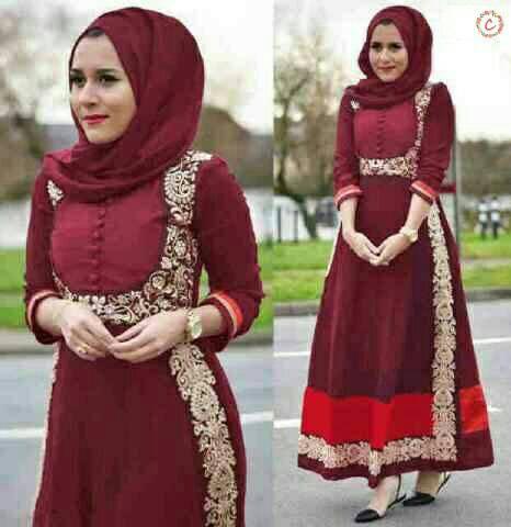 hijab venera marun bhn spndex balon aplikasi renda+phsmina L
