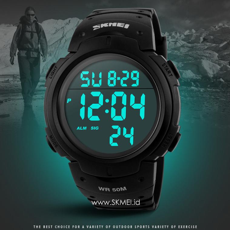 Detail Produk Jam Tangan SKMEI ORIGINAL Sport Watch Water Resist 50m Jam Tangan Pria