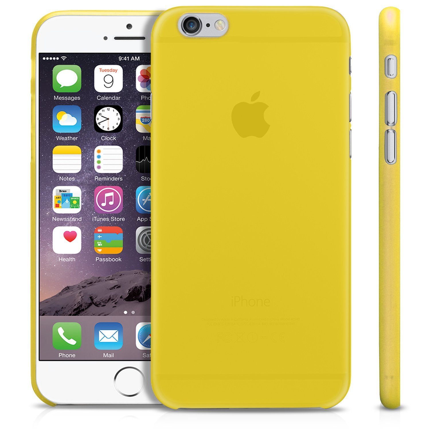 Jual iBuy iPhone 6 PLUS & 6s PLUS Ultra Thin YELLOW Kuning Casing Doff