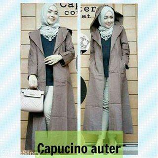 Atasan Baju Hijab - Capucino Outer