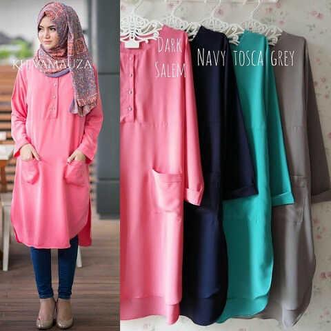 baju hijab HOTD KHEVA TUNIC ML