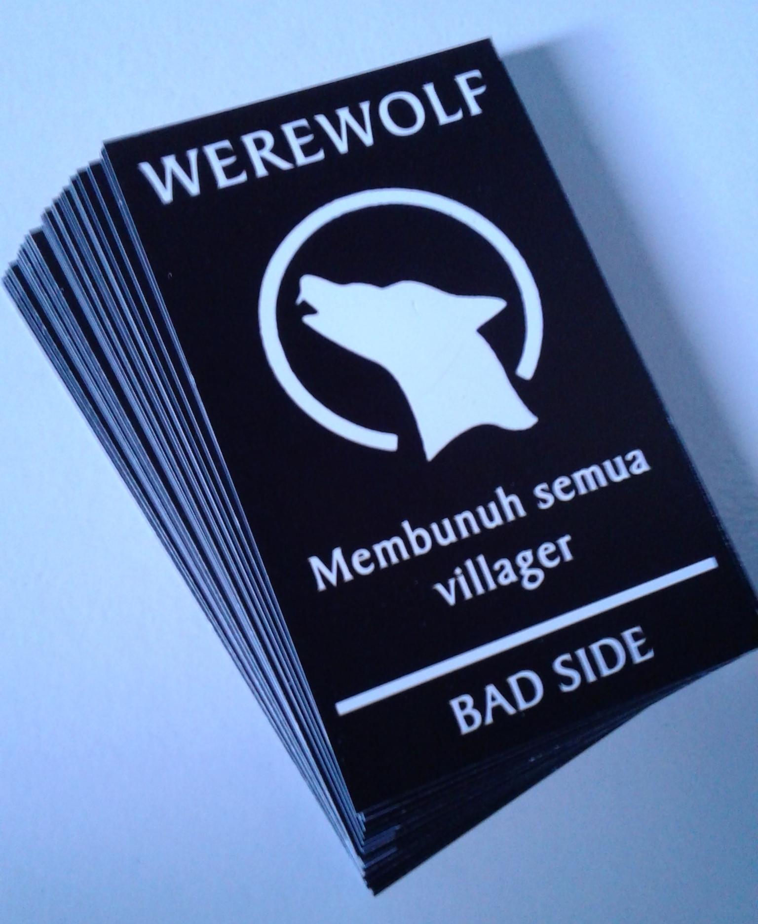 Kartu Warewolf