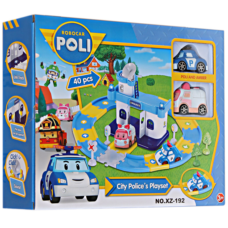 Jual PARKING ROBOCAR POLI .
