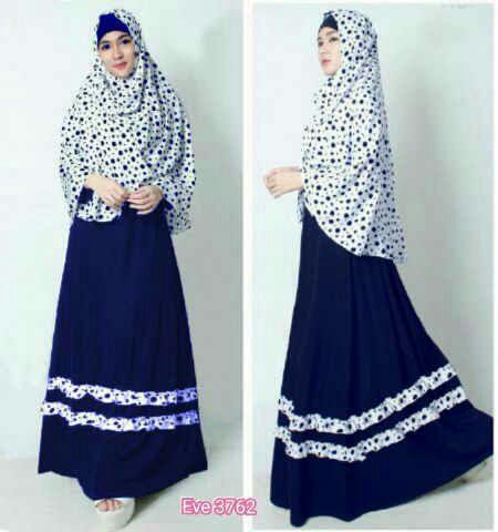 Restock Eve 3762 / gamis hijab
