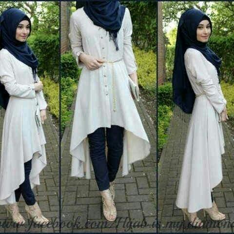 Hijab Resha White