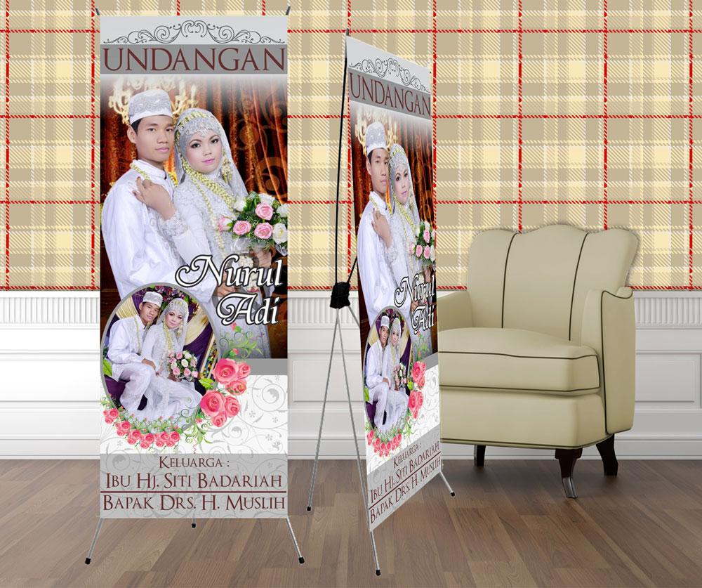 Contoh Spanduk Pernikahan Contoh Banner