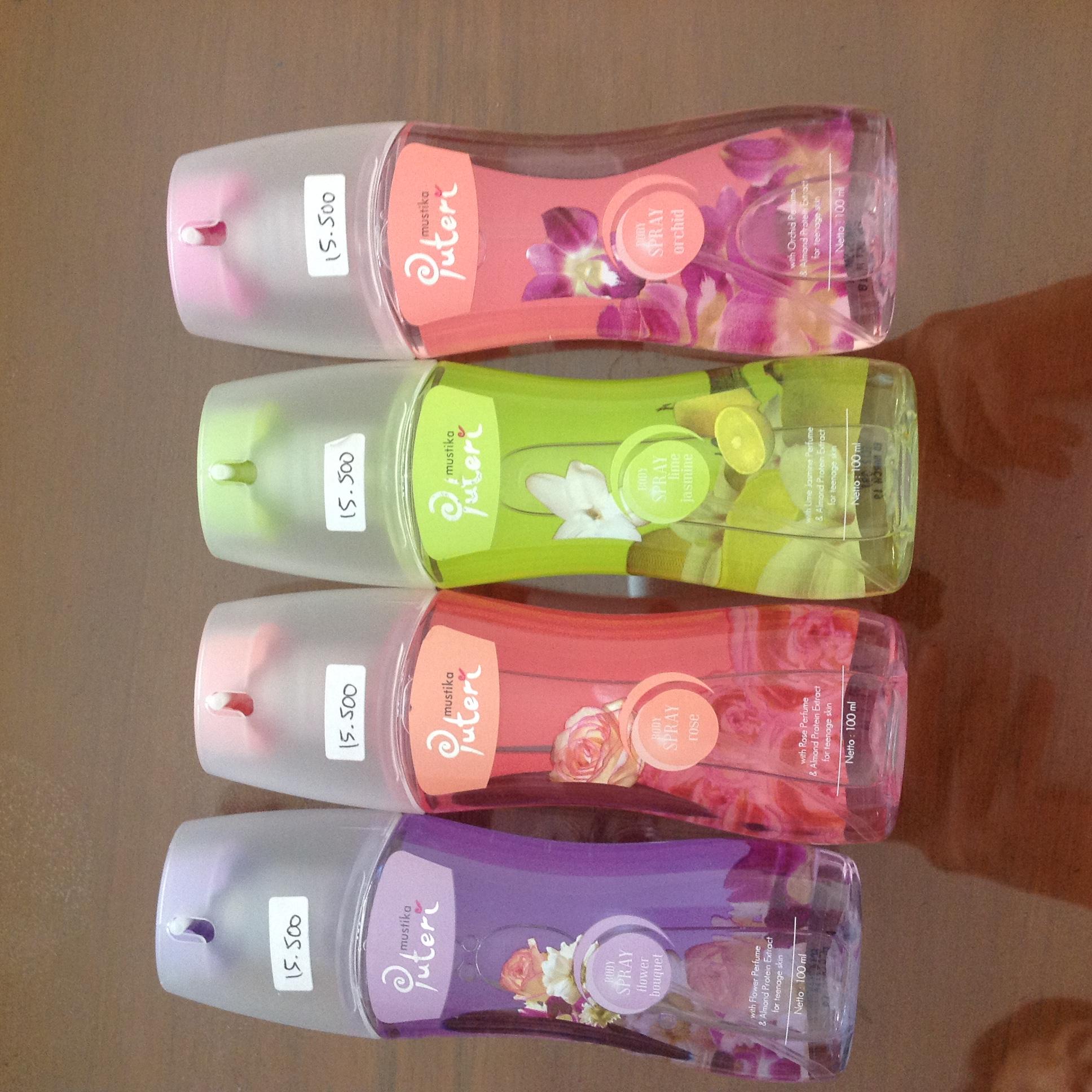 Jual Puteri Body Spray Miracle Garage Tokopedia Parfum Putri