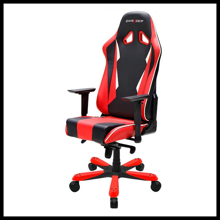 DXRacer Sentinel Series Gaming Chair - Black/Red - OH/SJ28/NR