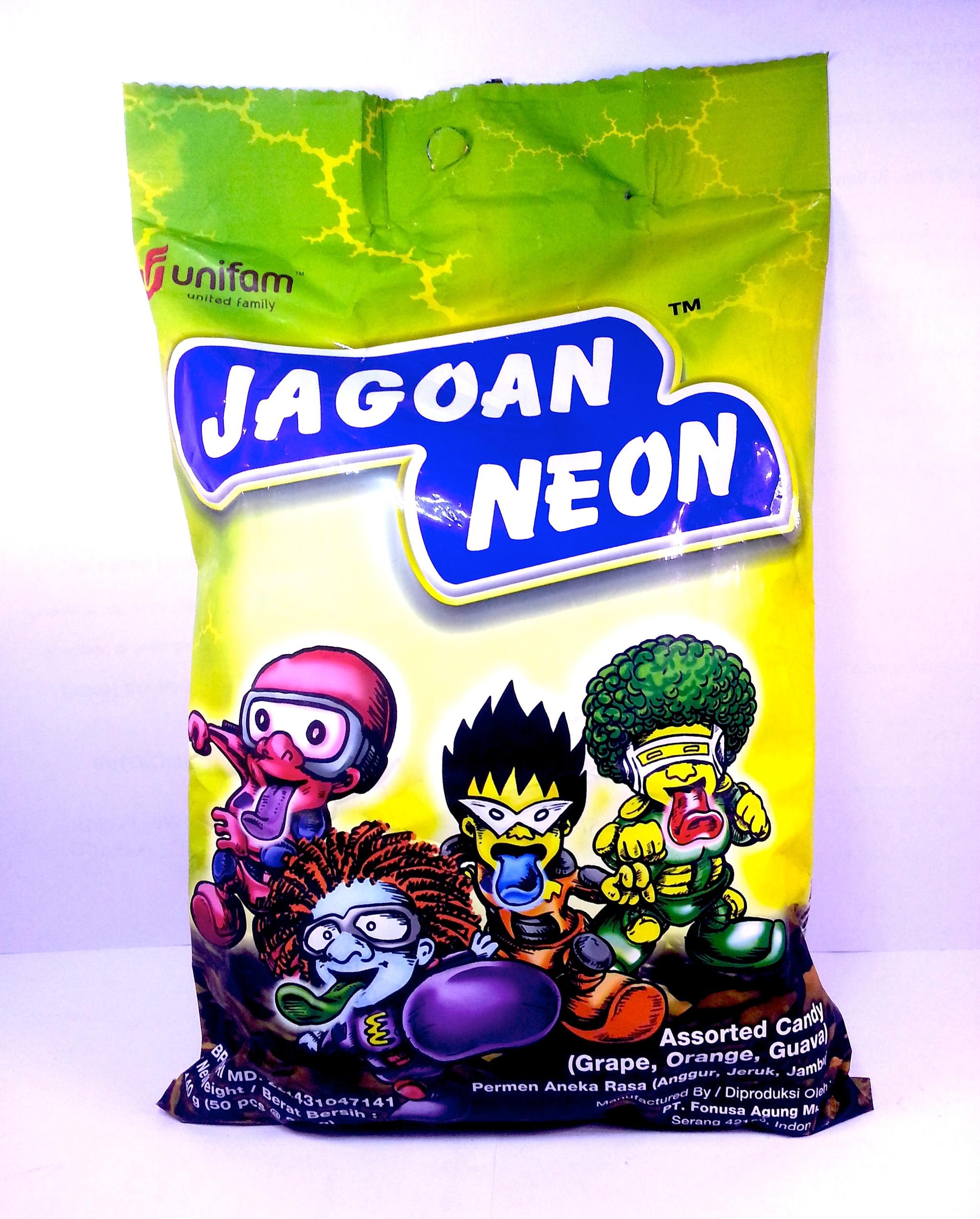 Jual Permen Jagoan Neon Permen Aneka Rasa Assorted Candy happycouple