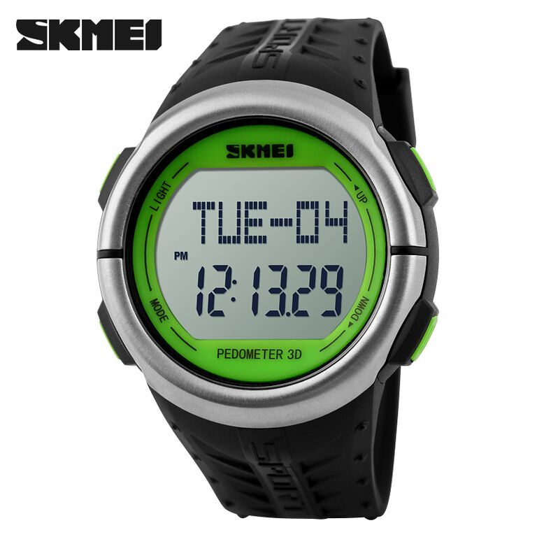 SKMEI Sport Watch Pedometer Heart Rate Tracking Water Resistant-DG1058