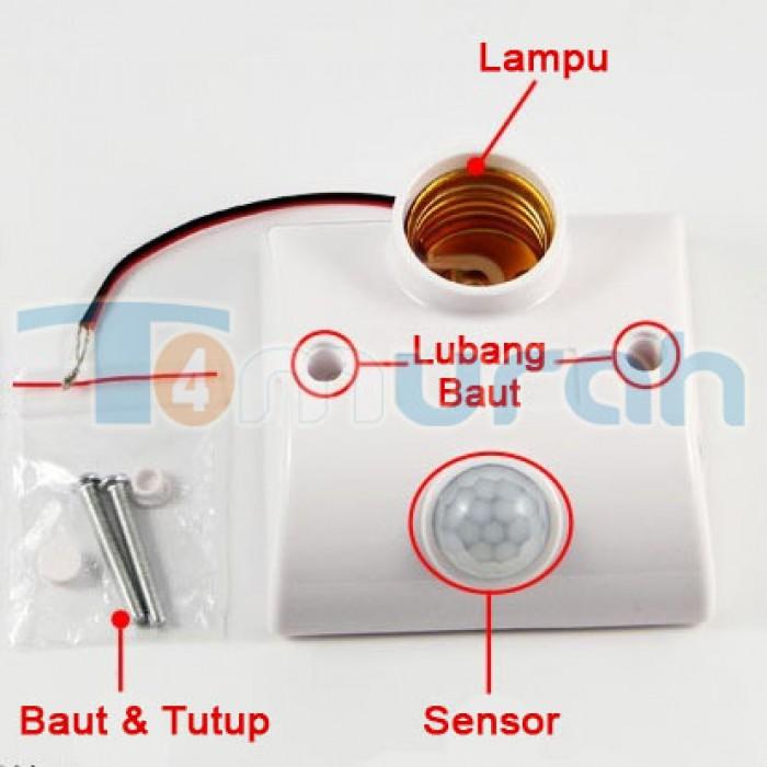 Jual Fitting Lampu Otomatis ON/OFF Dari Pergerakan Manusia - Aksesoris Lampu Hias | Tokopedia