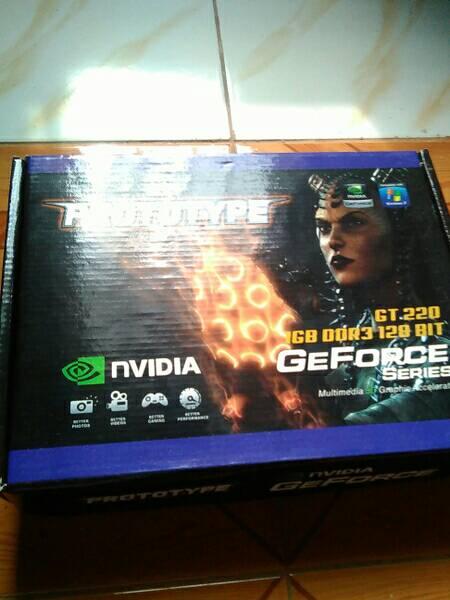 VGA Card Prototype GT220, 1 GB DDR3 128 bit PCI E murah