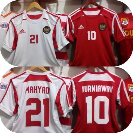 jersey timnas indonesia 2004