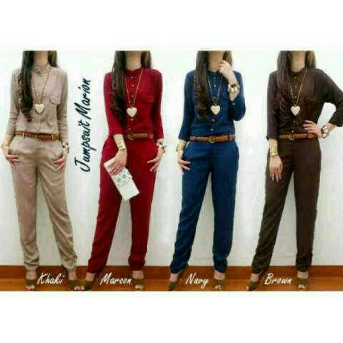 HIJAB FASHION JUMPSUIT MERLIN KATUN