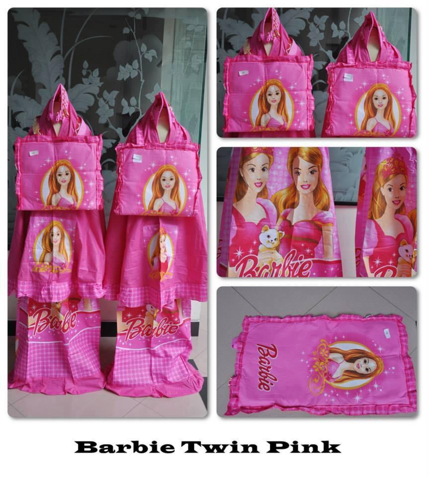 Jual Bokep Anak Kecil Mukenah Anak /Mukena Karakter Barbie Pink XL