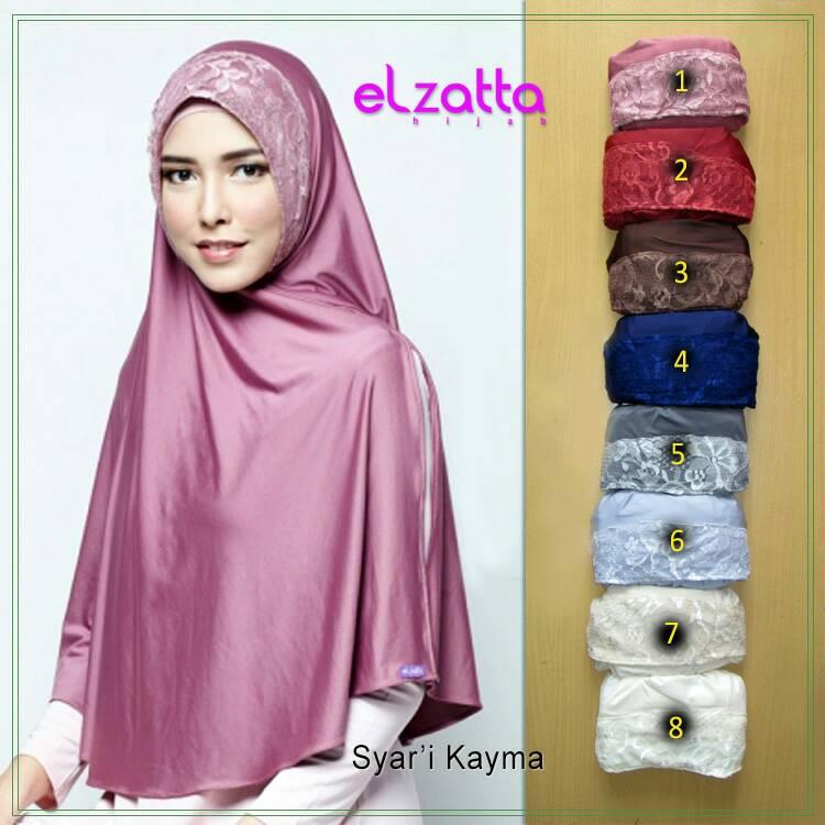 ELZATTA Syari Kayma Bergo | Jilbab Instan | Kerudung | Hijab