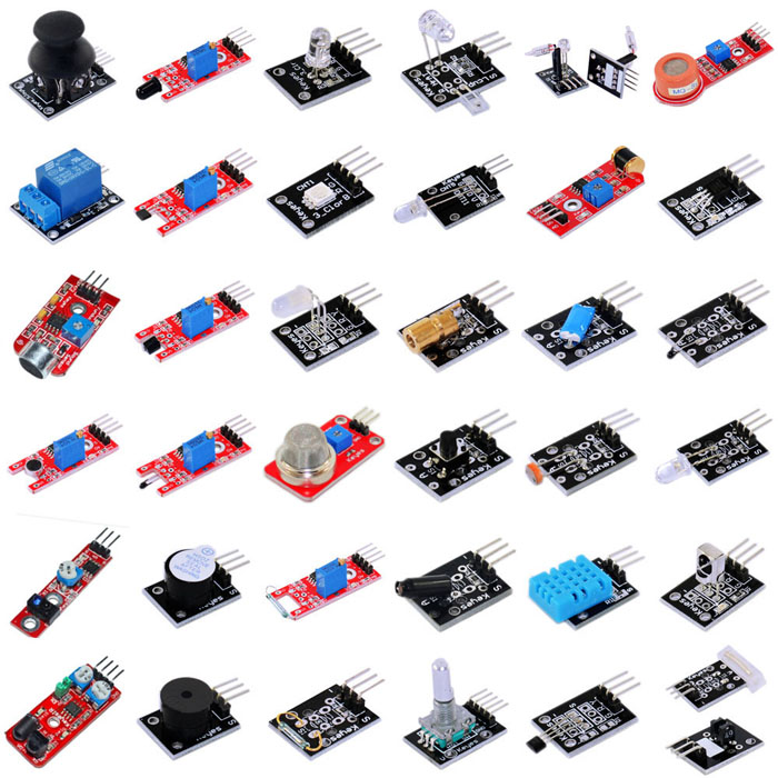 37 in 1 Sensor Kit for Arduino High Quality Sensor