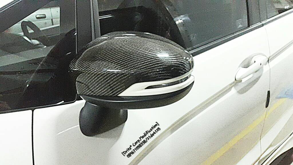 [Preorder 4 hari]  Carbon Cover spion All New Jazz Gk5
