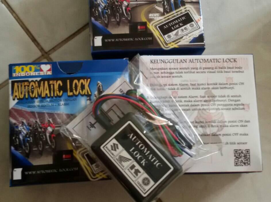 Jual Solusi Utama Pengaman Sepeda Motor Alarm