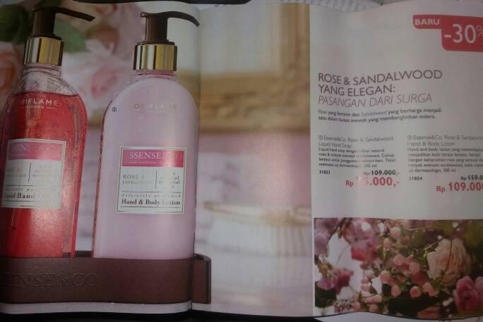Essense&Co. Rose & Sandalwood Liquid Hand Soap