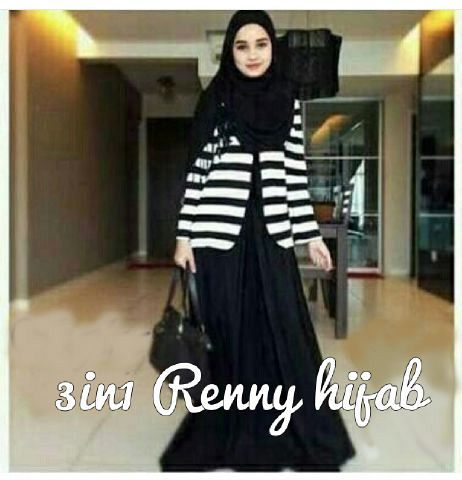 3in1 hijab renny