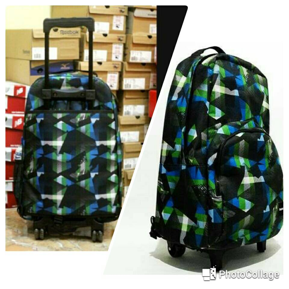 Jual Tas Ransel Backpack ORIGINAL Reebok Trolley Backpack