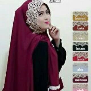 Jilbab/Hijab/Kerudung Wanita Syari