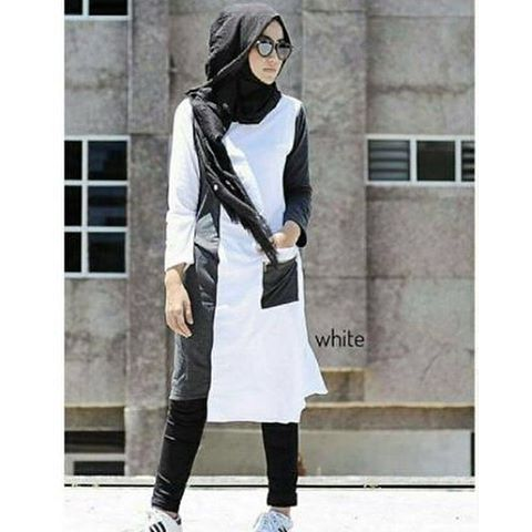 Baju Hijab Murah Amaterdam Tunik