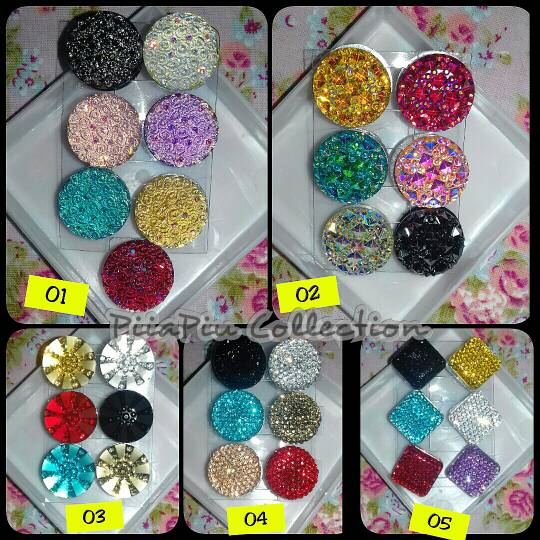 Pin Magnet/Klip magnet/ pin hijab/klip jilbab/bross magnet